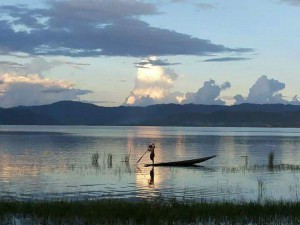 Inle lake Myanmar motorcycle tour