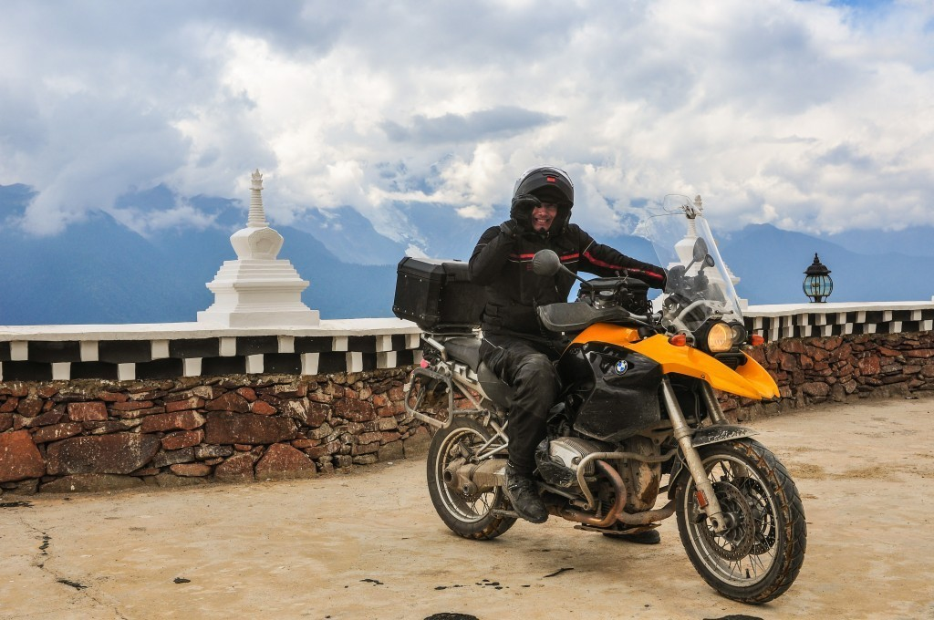 A Yunnan, China motorcycle tour