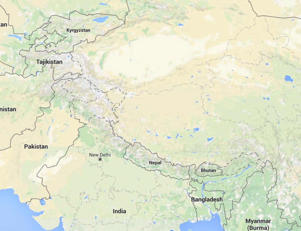 Kyrghizstan motorcycle cross Tibet to Nepal
