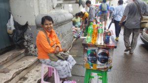 Myanmar motorcycle tour visits yangon