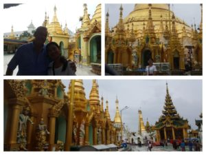 Myanmar motorcycle tour to Shwedagon Pagoda