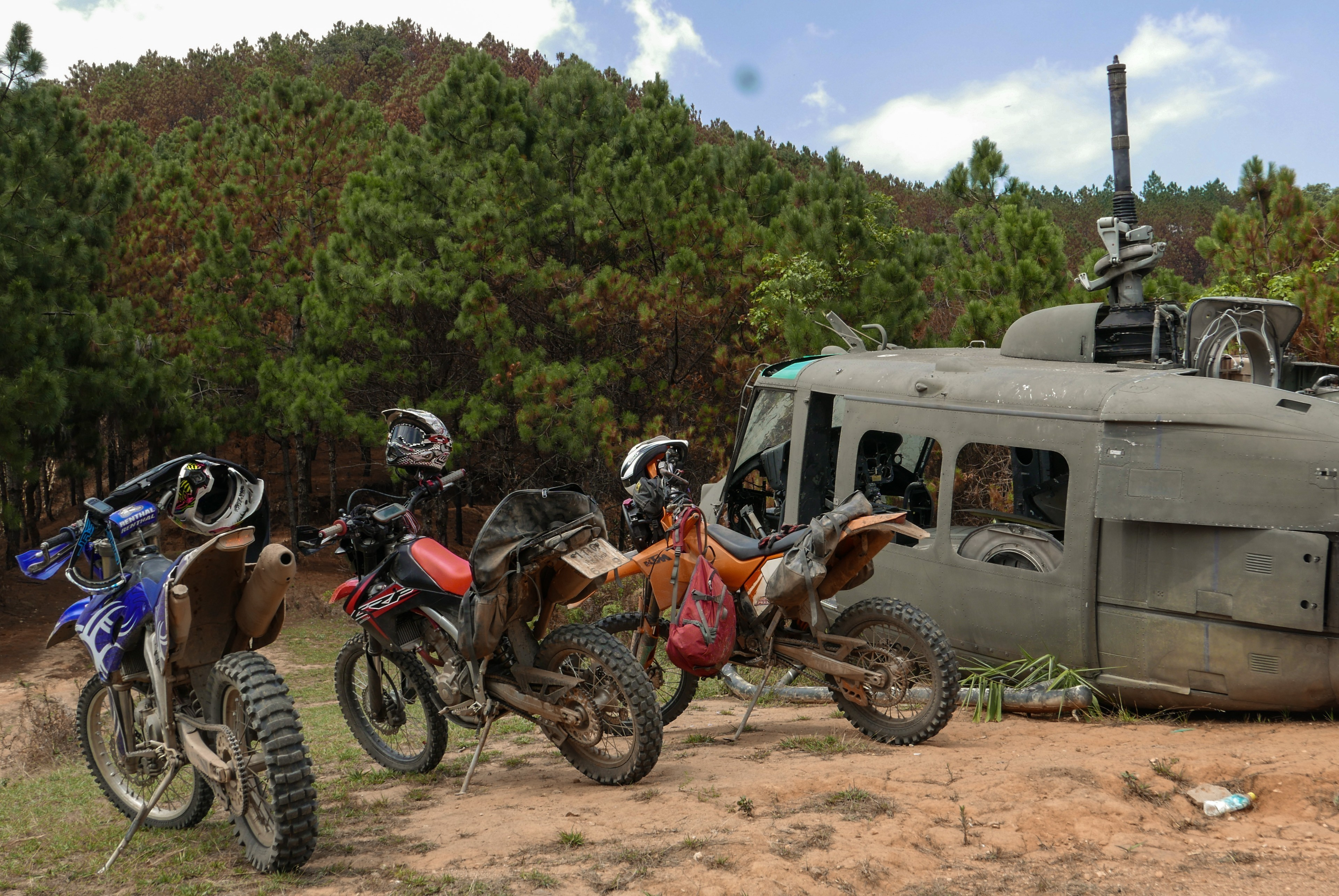 Thailand off road motorcycle tours with Motoasia. Book our adventure tour and live an off road experience riding the best dirt trails in Thailand.