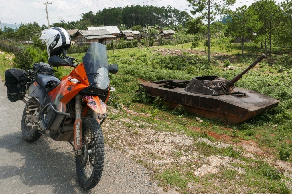 "Laos motorcycle tour to the CIA base that never existed, Long Cheng, Laos – ""The most secret place on earth""   (LS 20A)"