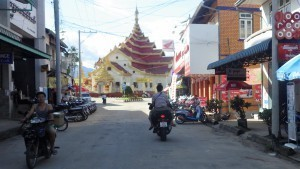Temples on a Myanmar motorcycle tour