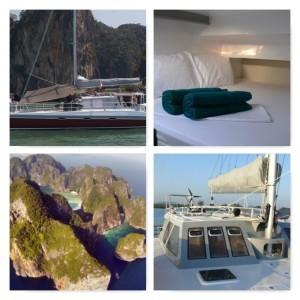 Thailand charter catamaran