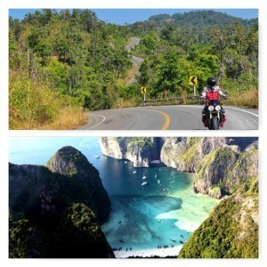 Thailland catamaran and motorcycle tour