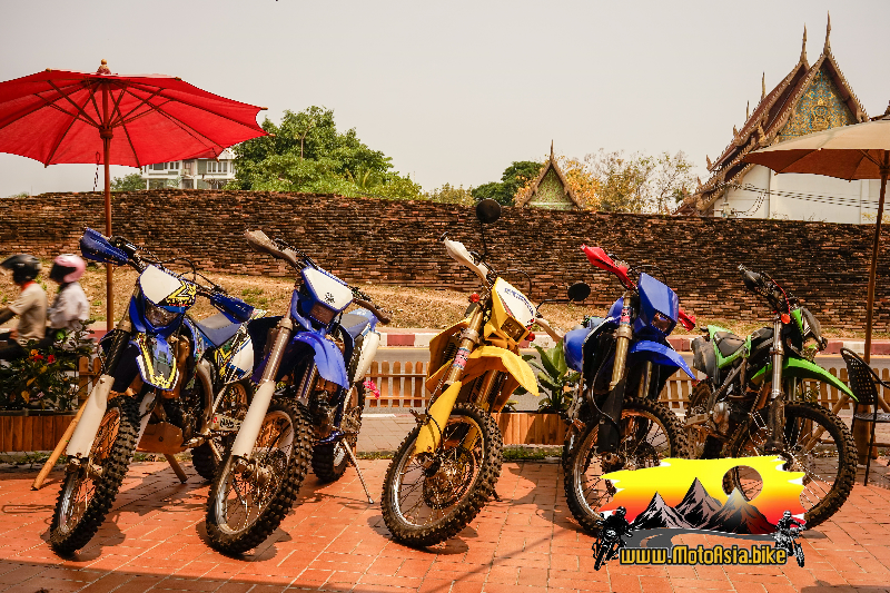 Performance enduro off road motorcycles for Thailand off road motorcycle tours